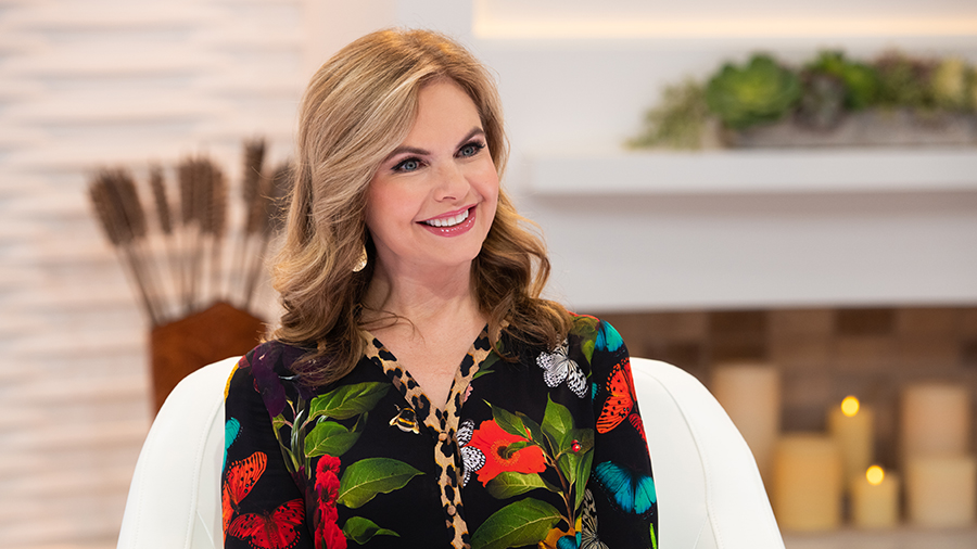 Victoria Osteen on Better Together Set