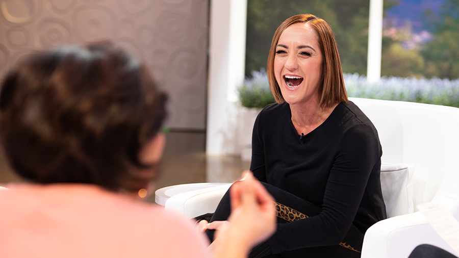 Christine Caine on Better Together Set