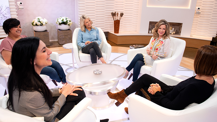 Alex Seeley, Dianna Nepstad, Jenn Johnson, Laurie Crouch, Christine Caine